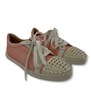 Christian Louboutin Toe Spiked Sneakers